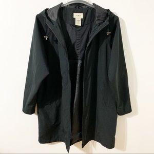 L. L. Bean Hooded Zip Relax Fit Lightweight Jacket